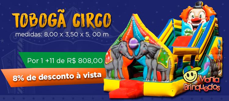tobogã circo